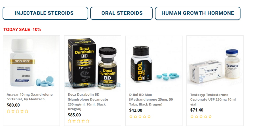 Steroids for sale